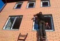 Монтаж решеток в Вологде