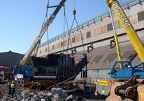 Демонтаж конструкций из металла в Вологде