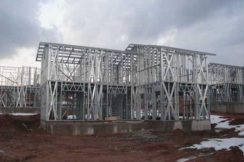 Здания на основе облегчённого металлического каркаса в Вологде